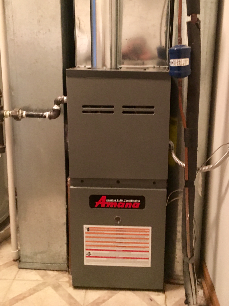 Amana AMH80 Furnace Install<br>March 20, 2017 - Plainfield IL