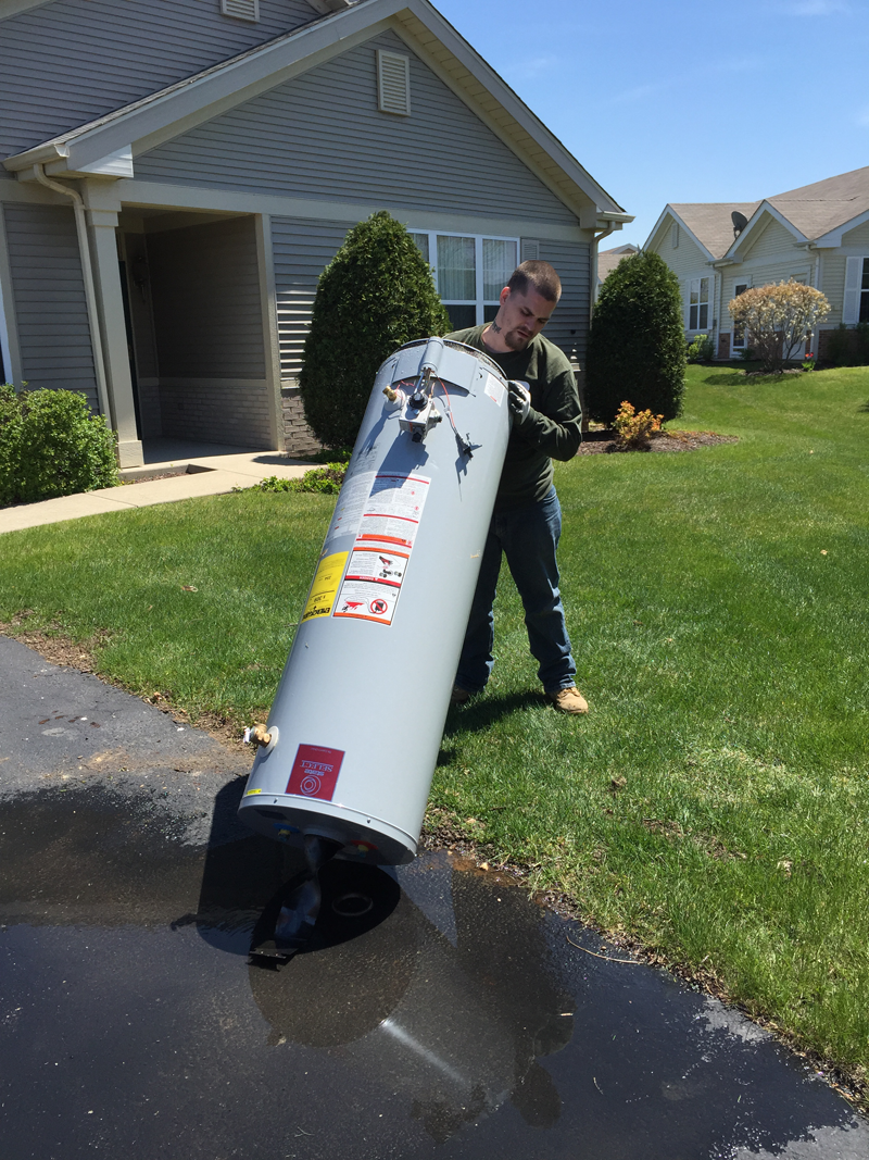 Water Heater Replacement -<br>Joliet IL