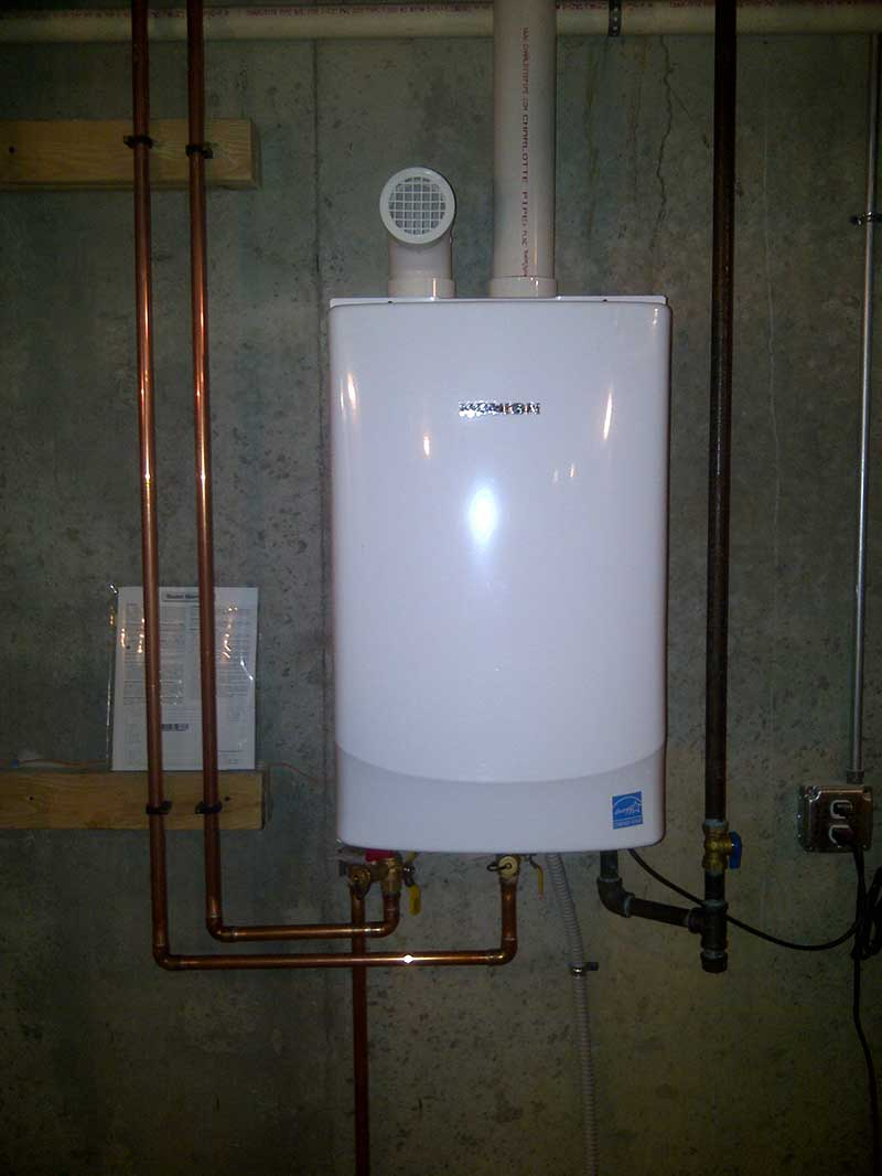 High efficient 98% Navien tankless water heater