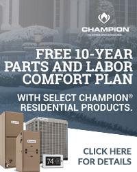 Champion Comfort Plan
