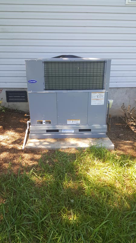 Carrier 14 SEER Packaged Air Conditioner