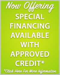 Hubbell is Now Offering Special Financing Available with Approved Credit