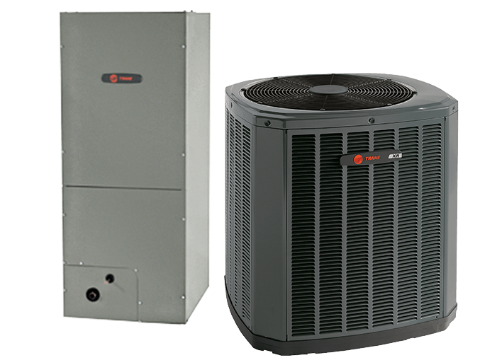 Trane 17 SEER Electric Two Speed System