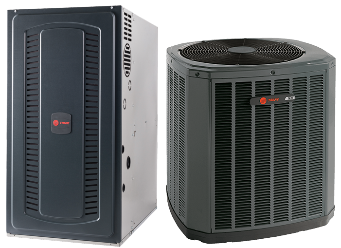 Trane 17 SEER Gas Two Speed System