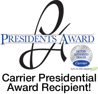 Carrier Presidential Award Recipient