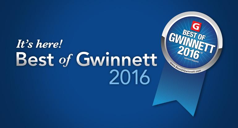 Gwinnett Magazine, Best of 2016