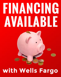 Financing Available with Wells Fargo
