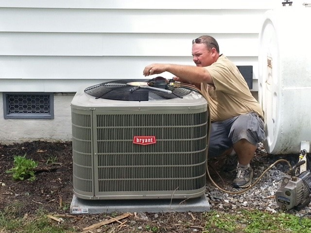 Bryant 16 SEER Air Conditioner, Nanticoke, Md