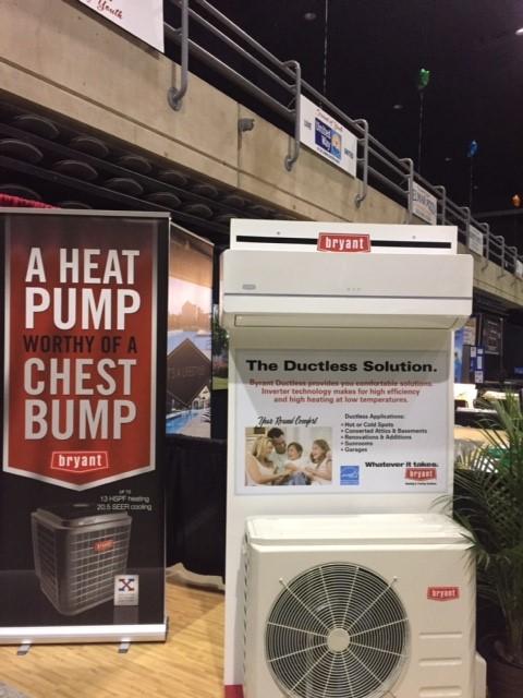 Bryant Mini Split Heat Pump in Salisbury Home Show
