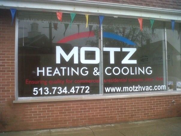 Motz Heating Cooling History Bethel Oh 45106 Bryant