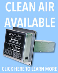 Air Scrubber Air Purification System