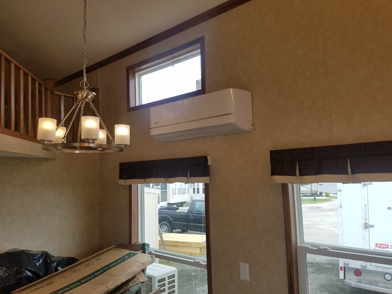 2 Zone Ductless in Treasure Beach RV Park - Inside