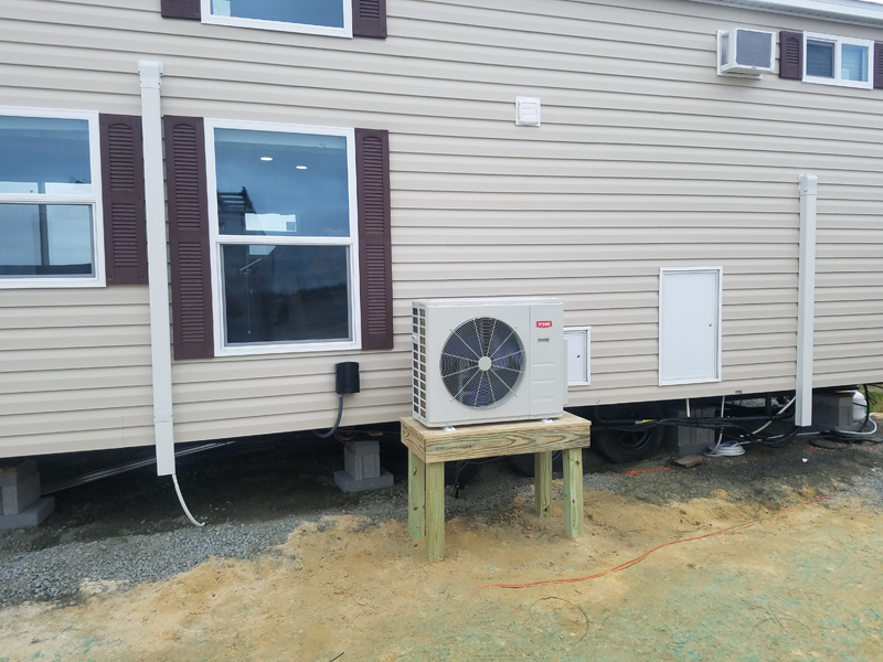 2 Zone Ductless in Treasure Beach RV Park - Outside