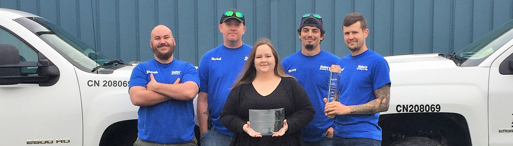 Hoke's Heating and Air Hawkinsville crew