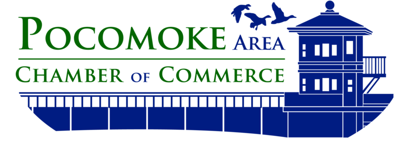 Pocomoke City Chamber of Commerce logo
