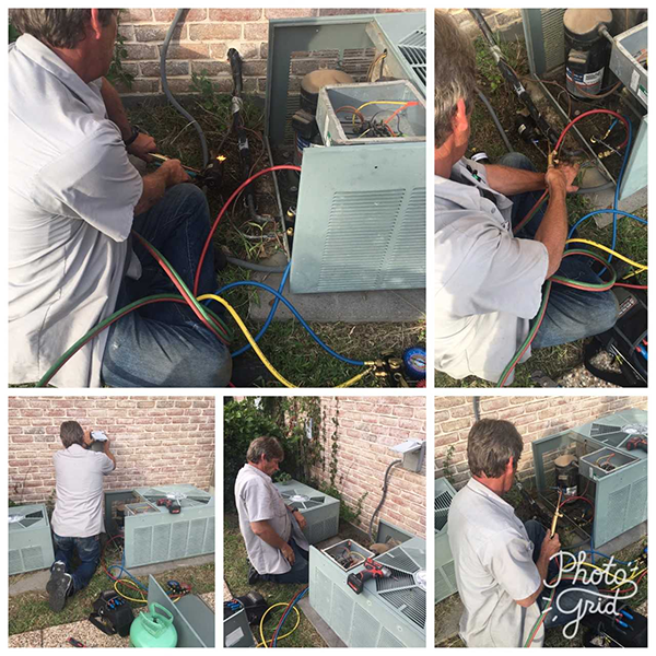 Refrigerant Leak Repaired