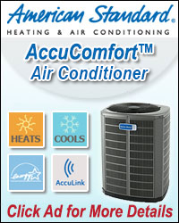 American Standard Air Conditioner ad
