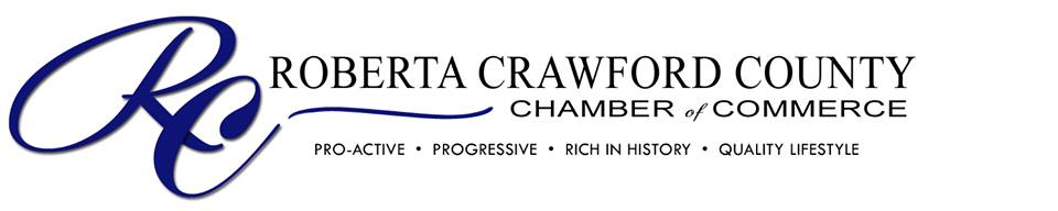 Roberta Crawford County Chamber of Commerce logo