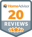 Home Advisor - 20 Reviews award
