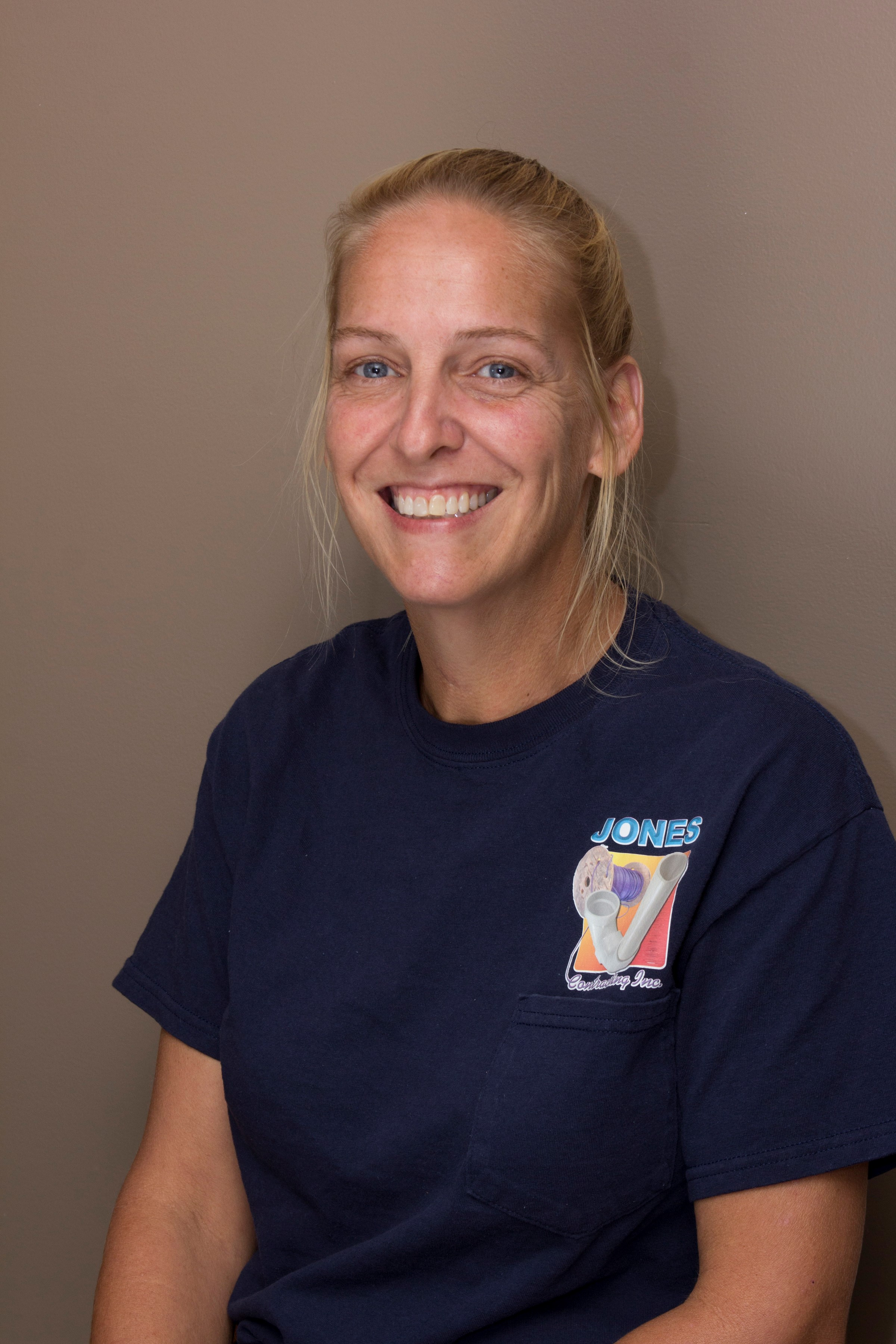 Image of Jones Contracting employee Julie Porter