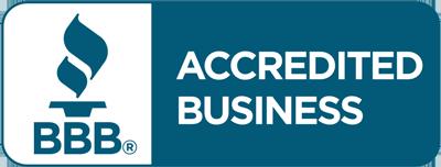 Better Business Bureau (Accredited A+ Rating) Logo