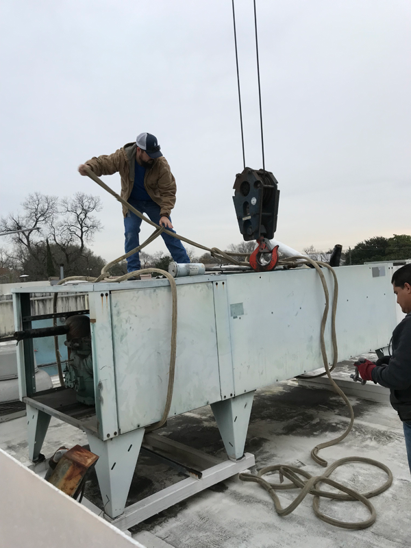 Removing Old Unit