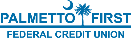 Logo for Palmetto First Credit Union in Florence SC