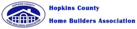 Hopkins County Home Builders Association Logo