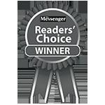 Voted #1, Messenger Reader's Choice
