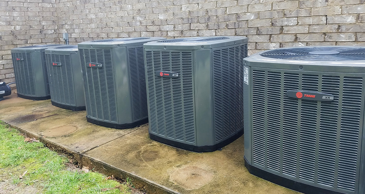 Trane 16 SEER AC Install in  Collierville