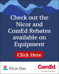 Click the ad to learn about Nicor and Comed Instant Rebates