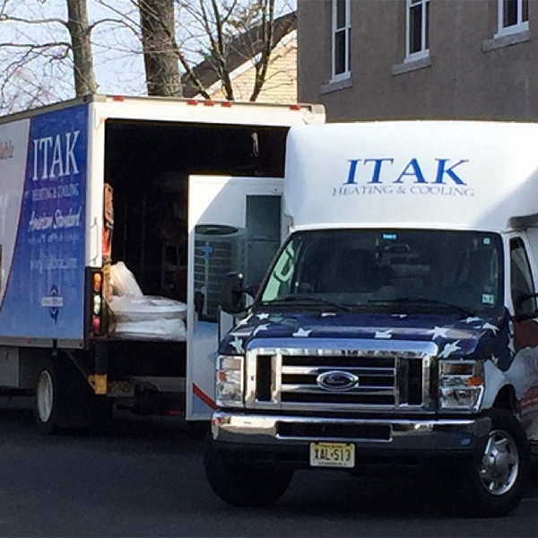 ITAK truck today
