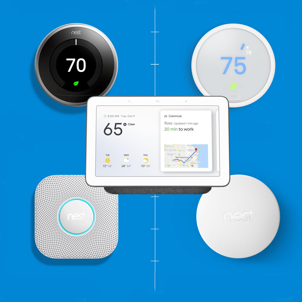 Google Nest Smart Home Products