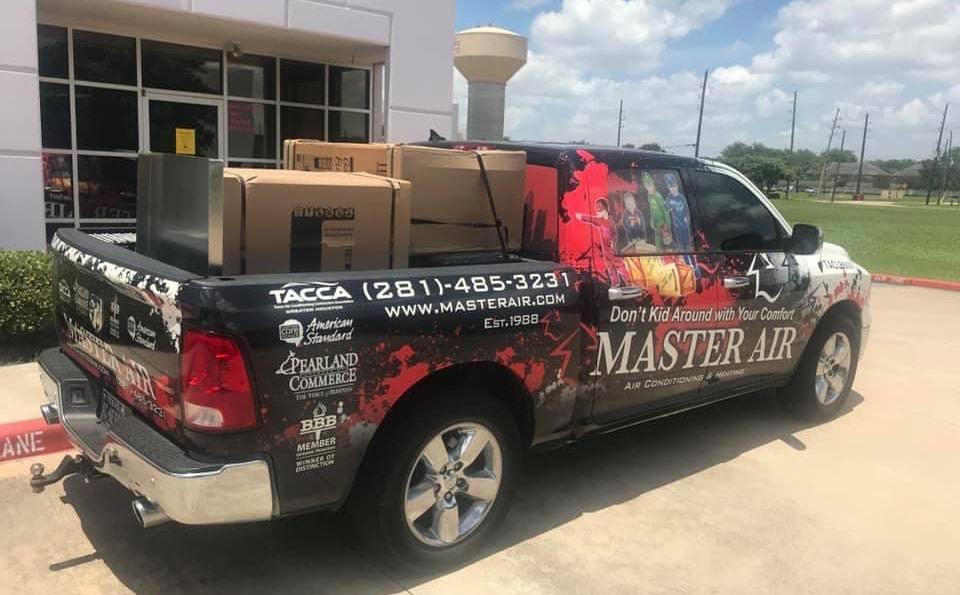 Master Air, Inc Truck