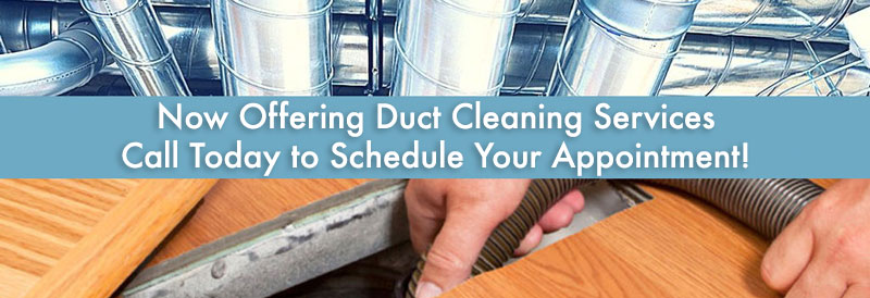 Air Duct Cleaning Services Offered