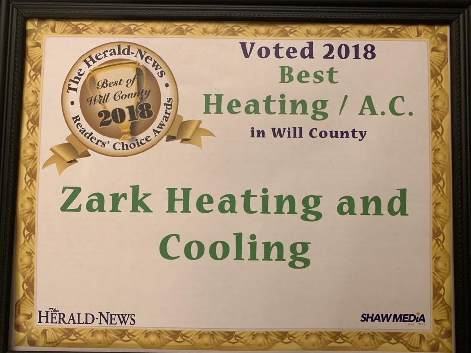Will County 2018 Contractor of the Year