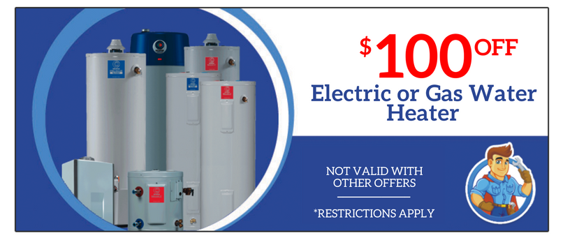 Electric or Gas Water Heater