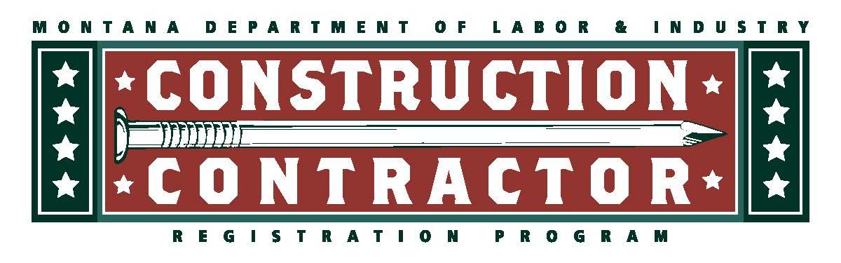 Montana Registered Contractor
