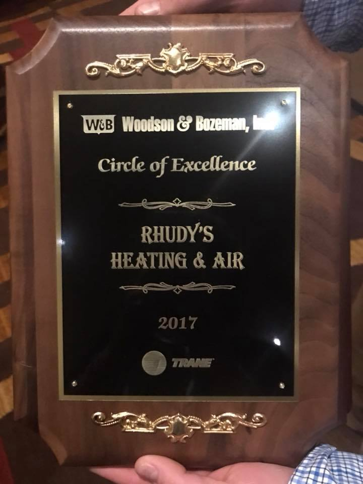 Woodson & Bozeman, Circle of Excellence award recipient, 2017
