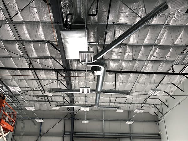 Commercial HVAC Installation 2