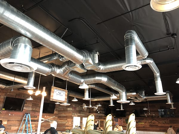 Commercial HVAC Installation 3