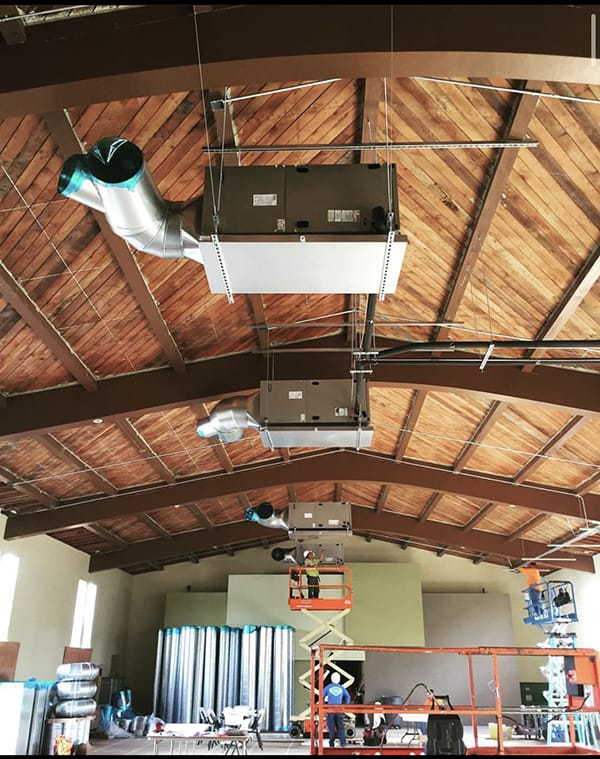 Commercial HVAC Installation 4