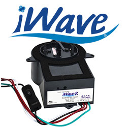 iWave logo and product image