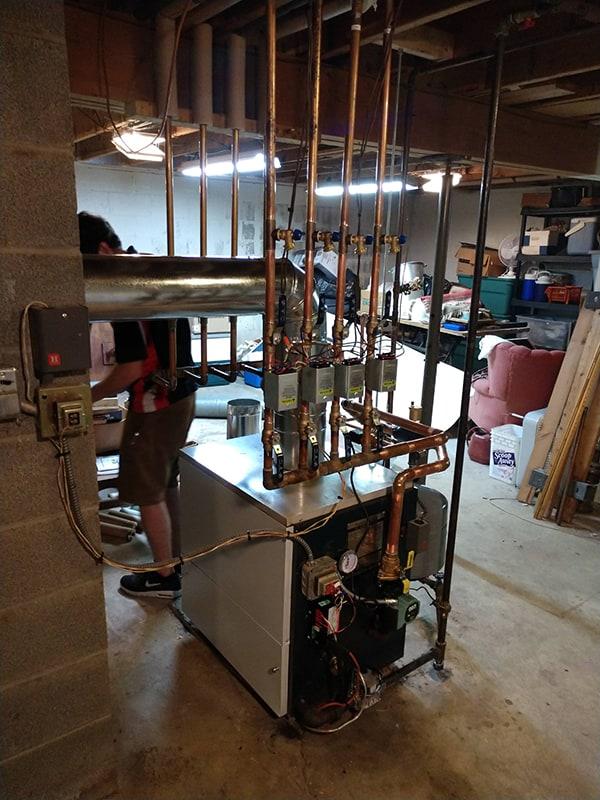 Boiler Rebuild After