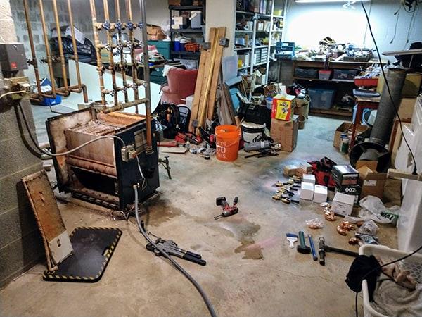 Boiler Rebuild Before