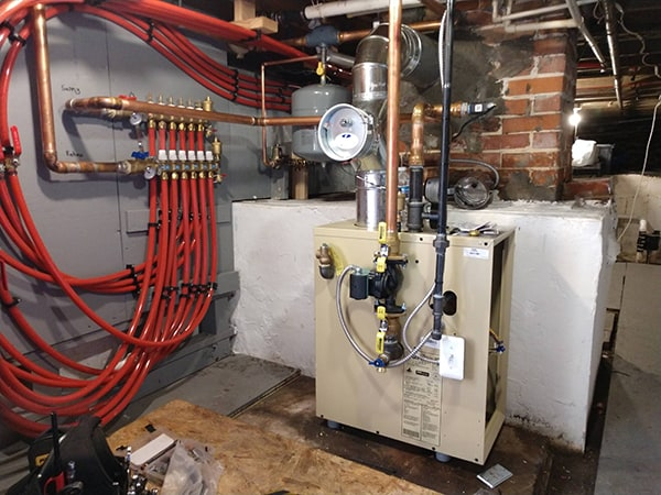 Boiler Upgrade with Infloor and Radiant