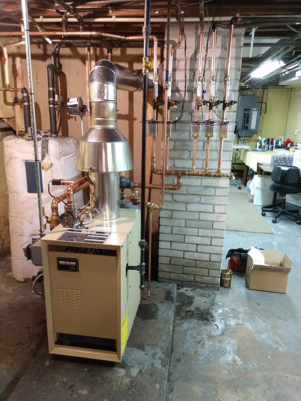 Fuel Oil Boiler Swapped to Gas 1