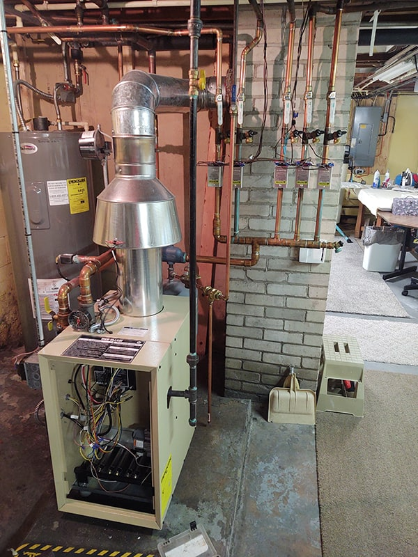 Fuel Oil Boiler Swapped to Gas 2