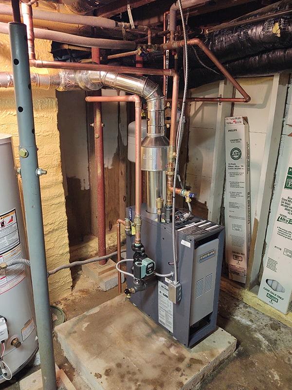 John's Boiler Upgrade After