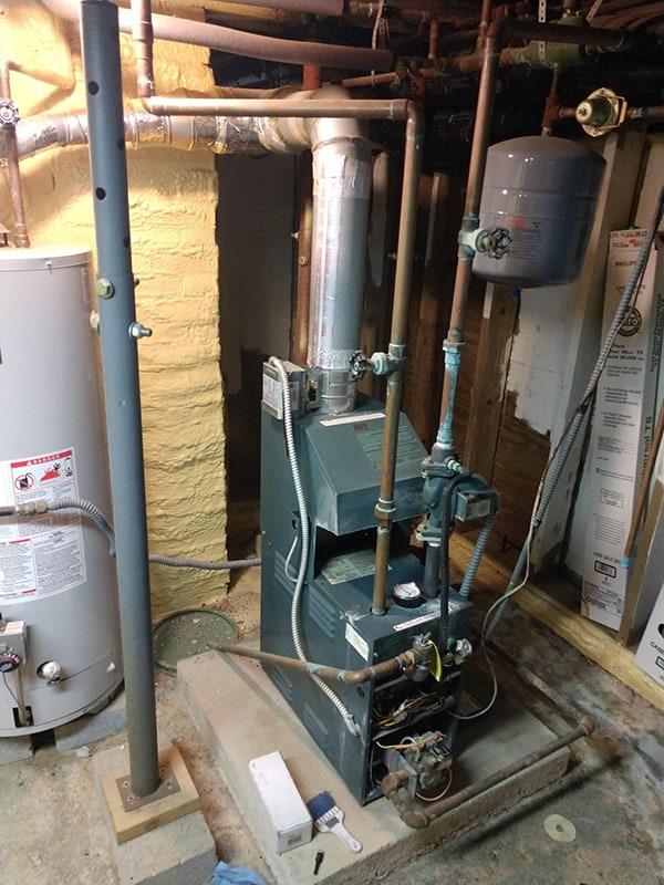 John's Boiler Upgrade Before